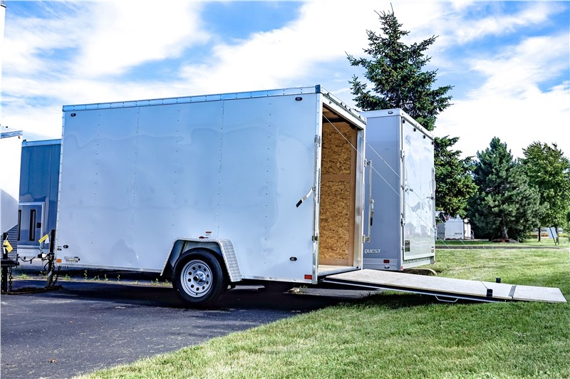 Stealth Mustang 6'x12' Enclosed Cargo Trailer