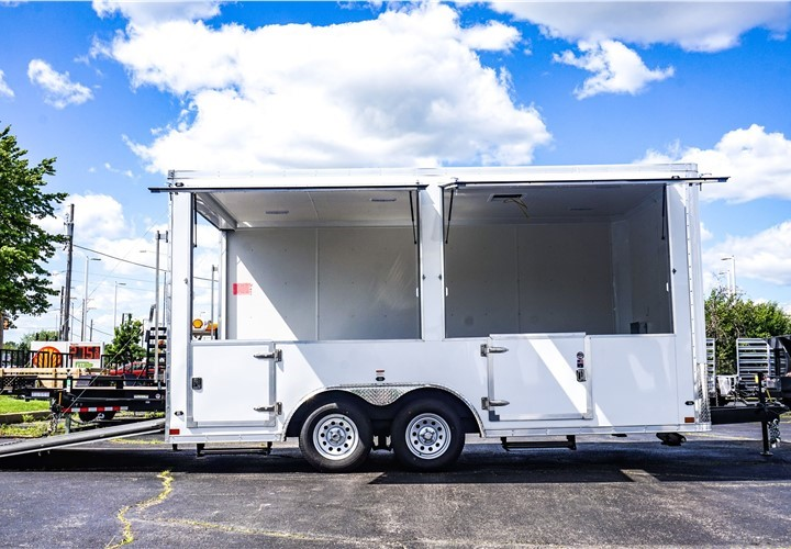 Stealth 16-foot Mobile Retail Trailer