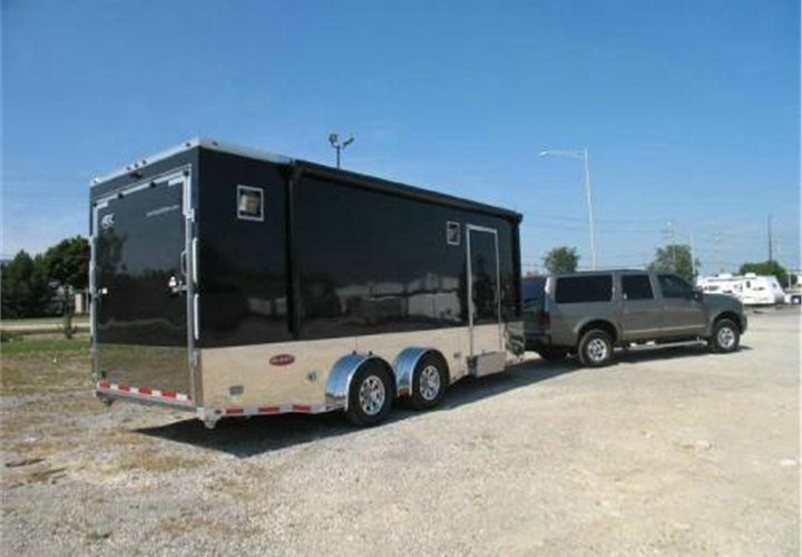 ATC toy hauler trailers