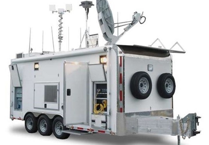 custom mobile command center trailer
