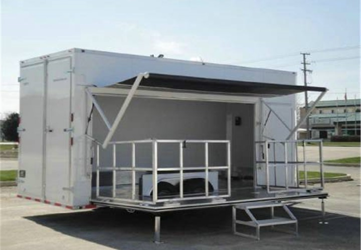 Custom Built Stage Amp Mobile Marketing Trailer Advantage