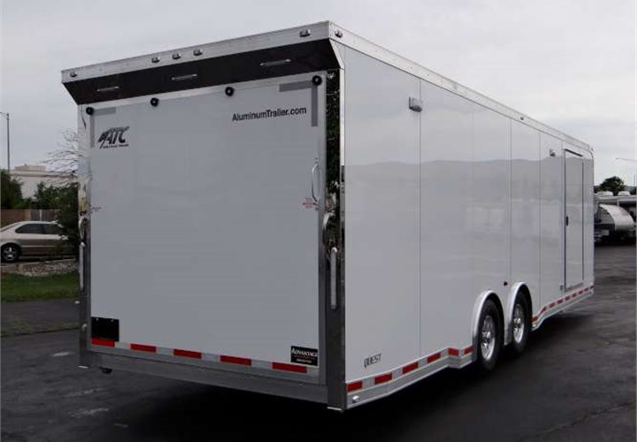 Custom 28 Car Hauler With Extruded Aluminum Interior
