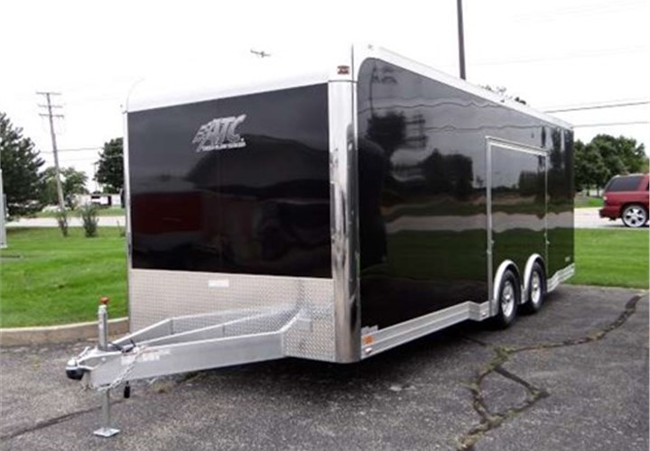 Custom 22 Car Hauler With Escape Door Advantage Trailer