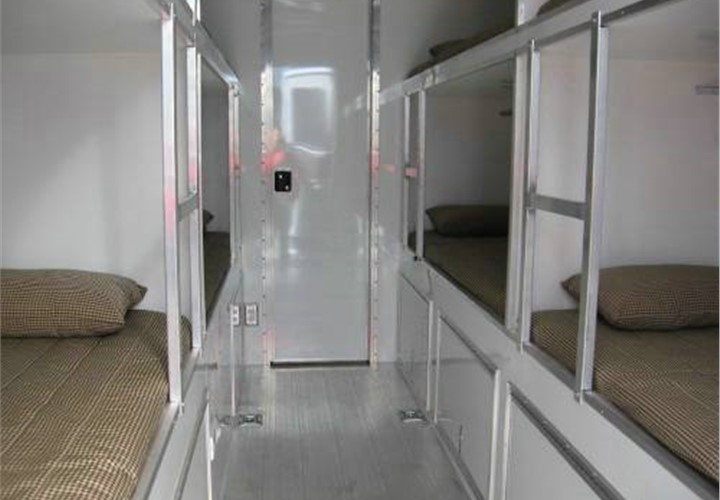 Atc Aluminum Bunk House Sleeping Quarters Custom Trailer
