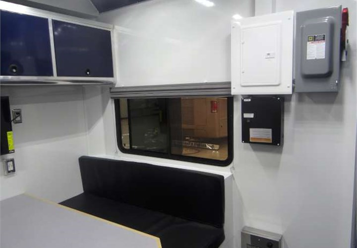 Atc trailers stacker car haulers - Custom Mobile Workshop For Vibration Control Technology