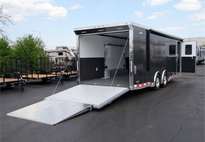 Custom Built Multi Use Car Toy Hauler Advantage Trailer