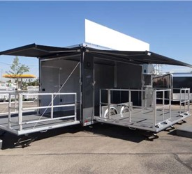 18' Mobile Stage Trailer