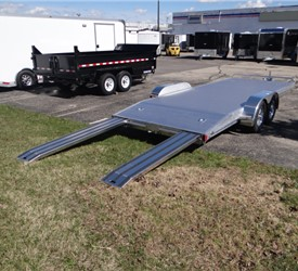 Open Utility Trailers Equipment Haulers Open Car Hauler