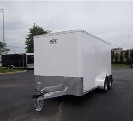 7' x 14' Cargo Trailer with Rear Ramp Door