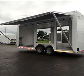20' Mobile Marketing unit for Fiber Optic Management Product Manufacturer