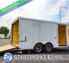 Formula 8.5'x16' Round Top Landscaping Trailer