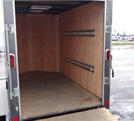 USED 5' x 8' Cargo Trailer with a Rear Ramp Door