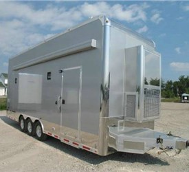 All-Aluminum ATC Car Hauler Stacker Trailer