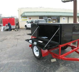 Mobile Tool Box Cargo Trailer