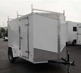 Enclosed 6' x 10' Cargo Trailer (Contractor Package)