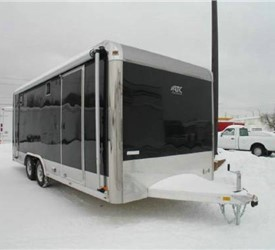 ATC Aluminum 8.5' x 20' Enclosed Motorcycle/Car Trailer