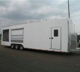 ATC Custom Built Smoker/BBQ Kitchen Trailer