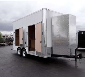 Mobile Jobsite Trailer for a Local Municipality