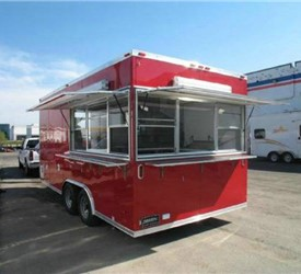 Custom Concession Mobile Kitchen Trailer