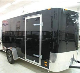 MOTIV ENCLOSED CARGO TRAILER WITH WEDGE NOSE