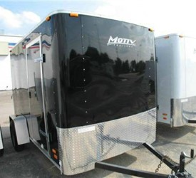 ENCLOSED CARGO TRAILER 6' X 10' W/RAMP