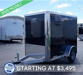 Enclosed 5' x 8' Cargo Trailer
