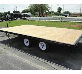 "OPEN ATV OR SNOWMOBILE TRAILER 102""X14'"