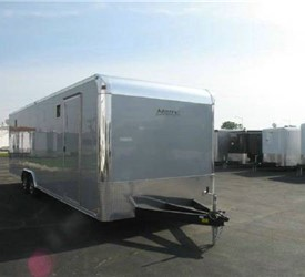 Motiv Redline Package 28 Enclosed Car Hauler Trailer
