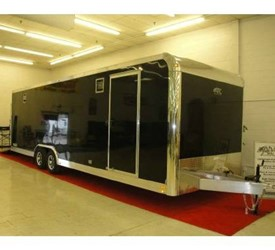 ATC QUEST ALUMINUM CAR TRAILER 8.5X28' 2011