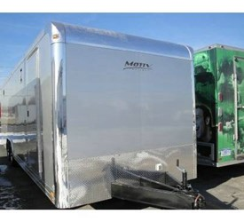 2011 MOTIV RSX ENCLOSED CAR TRAILER 8.5 X 28'