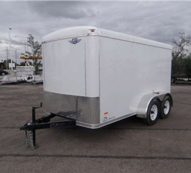 Custom 6' x 12' Round Top Cargo Trailer / Camper