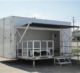 Custom Built Stage & Mobile Marketing Trailer