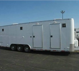 Custom Built Mobile Feild Office And Command Center For Emerson Instrument & Valve Services