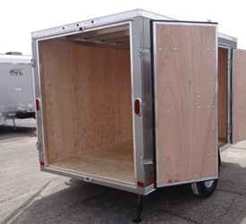 Custom Cargo Trailer for Local Boy Scout Troop