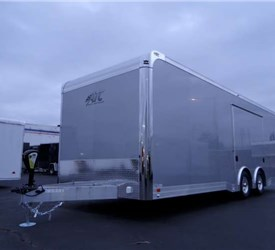 Custom Silver Frost 24' Car Hauler
