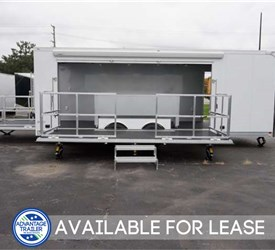 24' Stage Trailer with 15' Stage - Lease or Rental Unit