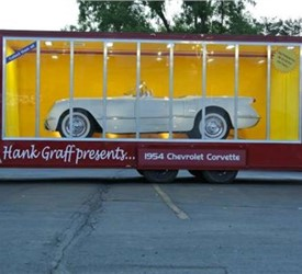 8.5' x 24' Custom Glass Side Mobile Model Car Box