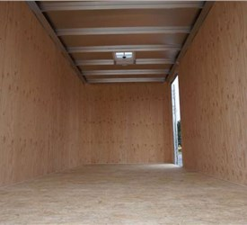 Enclosed Cargo Trailer for Local Junk Removal Service