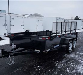 High Sided Open Utility Trailer