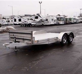 8.5' x 15' All Aluminum Open Car Hauler
