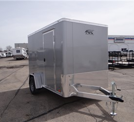6' x 10' Silver Frost Cargo Trailer