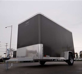 6' x 12' Charcoal Gray Cargo Trailer