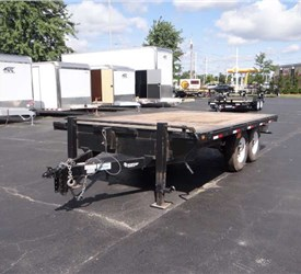 2010 JB Enterprise Deck-over Trailer