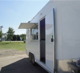 Mobile Tea Room and Marketing Trailer
