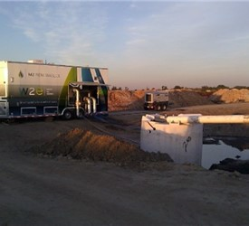 Mobile Wastewater Equipment Demonstration Showroom
