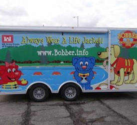 8.5' x 18' Mobile Marketing Trailer