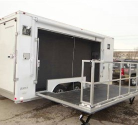 Custom 8.5' x 20' Event Trailer with 2' Nose Wedge for The Bass Federation