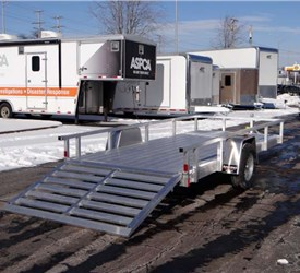 6' x 14' All Aluminum Open Utility Trailer by ATC – Aluminum Trailer Company
