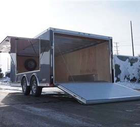 CUSTOM 16' ALUMINUM CAR HAULER