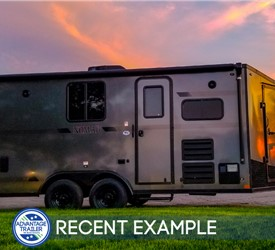 Stealth Nomad 18' Toy Hauler with Upgraded Kitchen